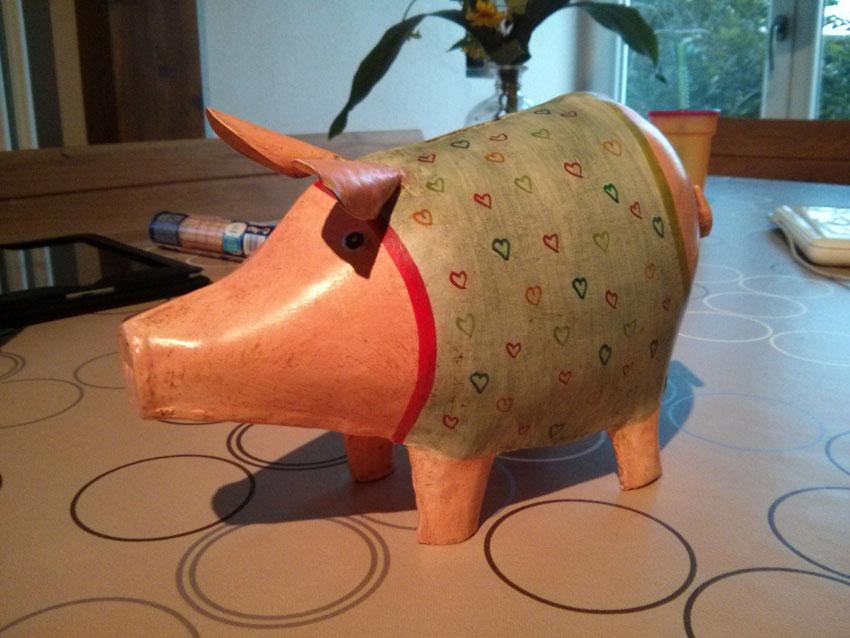Die Geschichte zum Schwein!